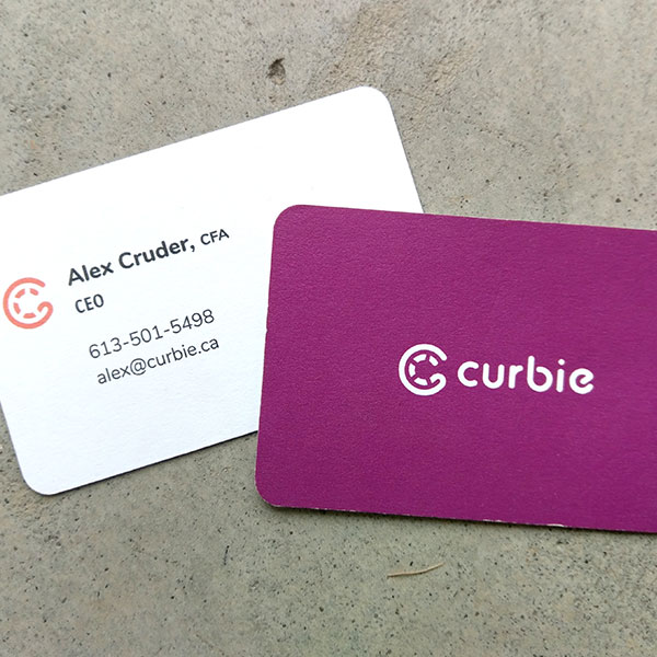 Curbie Business Cards